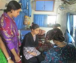 At a Health Camp