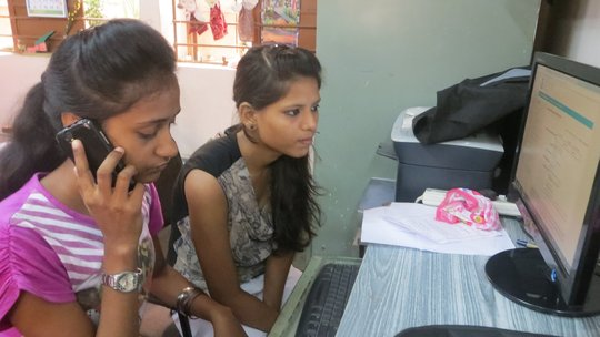 Girl's Participation in Online Admission