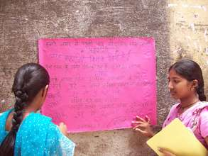 Girls Taking Action in Their community
