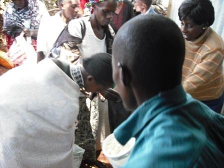 Emergency Food Distribution in Kenya