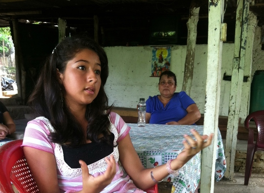 Carina explains how to prevent child marriage.
