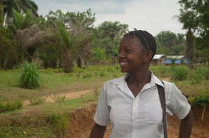 Mariama, age 15, Sierra Leone