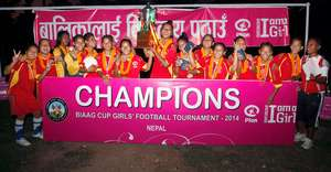 Team Rautahat - Cup Champions!