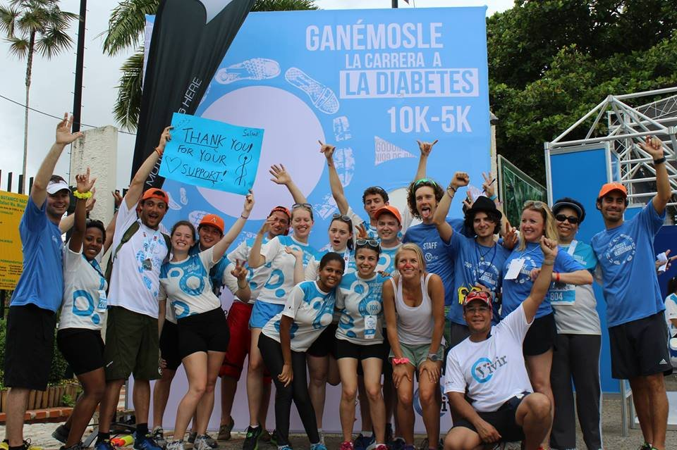 AYUDA and AAV volunteers at Ganemosle!