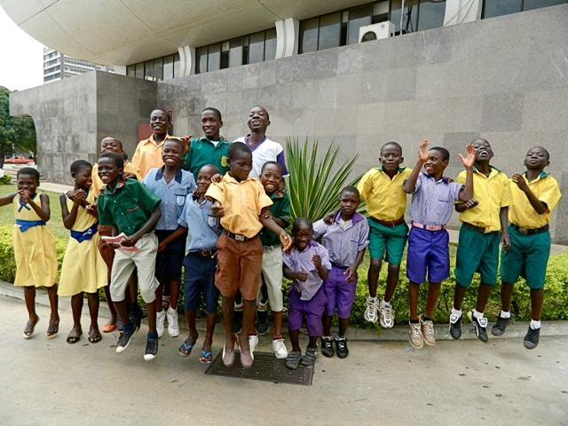 Rescued kids excursion in Accra, Ghana