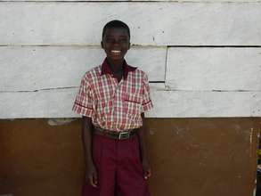 Joseph after being sponsored to school