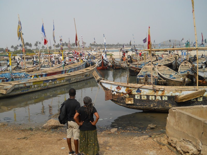 The Nyanyano fishing village