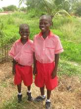 Paa Kwesi and Kofi Enoch now in school