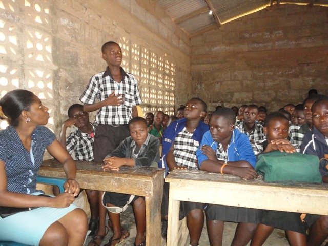 Student shares his experience on Child Labour day