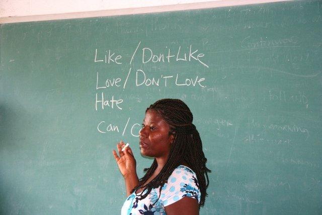 Haitian teachers taking the lead