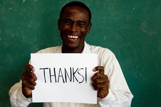 Alex says thank you!