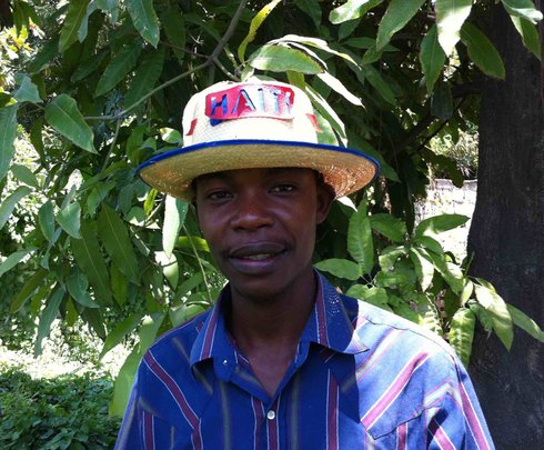 EIM Gardening Club President Ansly