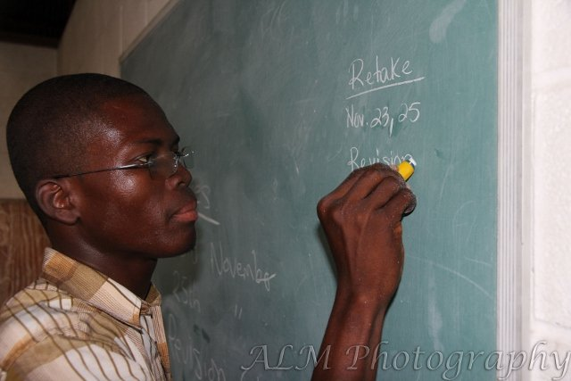 Teaching and helping his students succeed