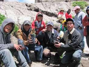 Residents of Guangaje