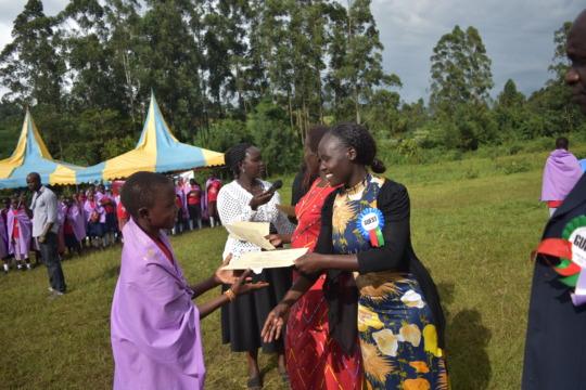 Leadership Training for Girls in Maasai Kenya