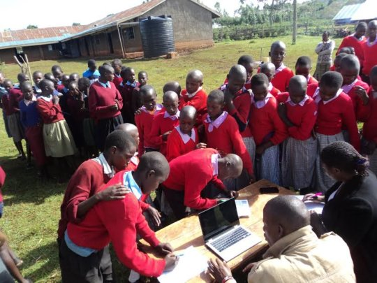 Leadership Training for Girls in Maasai Kenya