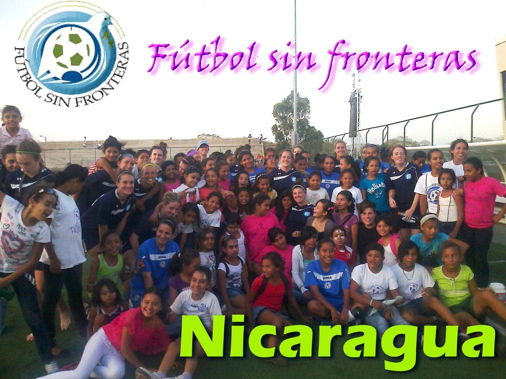 February Exchange Players w/ Nicaraguan Nat. Team
