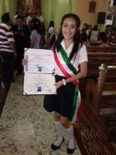 Hasly- University scholarship recipient