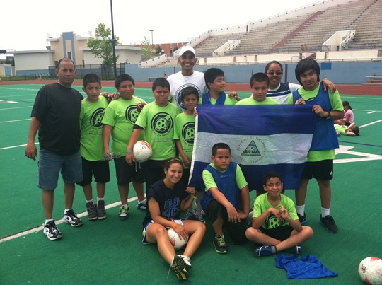 Nicaraguan coaches at SWB Boston