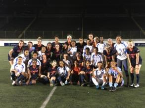 U-20 National Team & Illinois post game