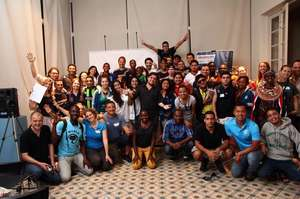 Coach Techo in Brazil at the Sony Youth Forum