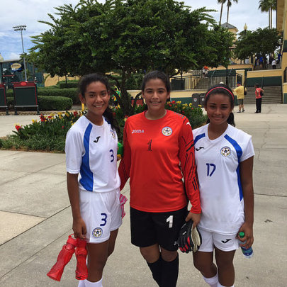 SWB Players at CONCACAF event