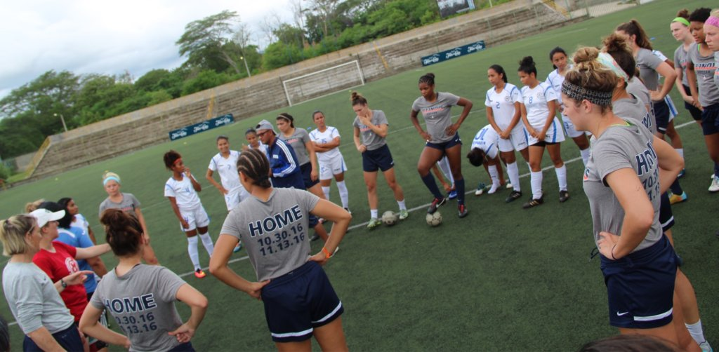 National Team & Illinois joint training session