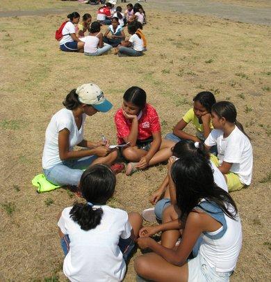 "Coach Veronica (""Flaca"") and group, Women"