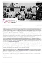 GFSA August Report 2013 (PDF)