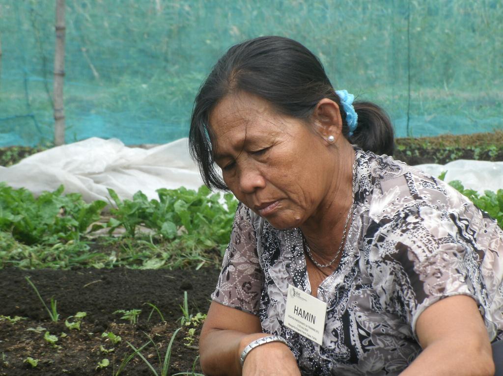 Nanay Hamina in the training in 2009