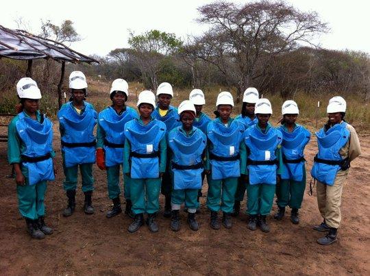 APOPO's Ladies Team