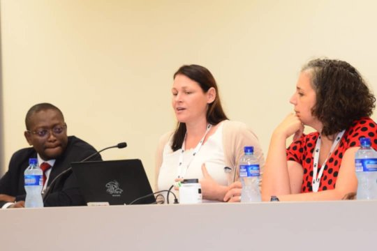 APOPO's Dr Schneider presents at CITES conference