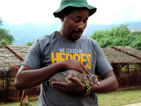 Every trainer develops a bond with the HeroRATs