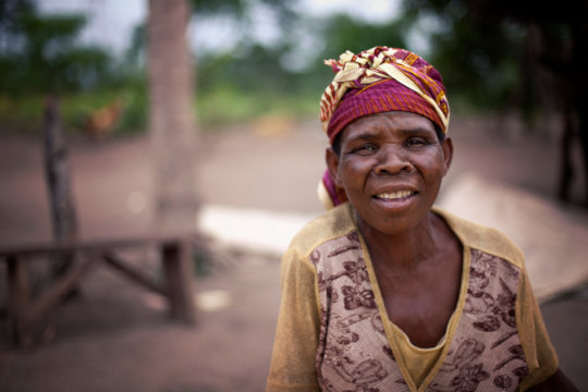 I am Gloria, a grandmother and smallholder.