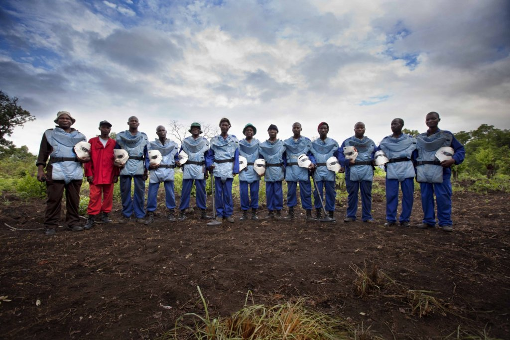 APOPO deminers helped rid Mozambique of landmines