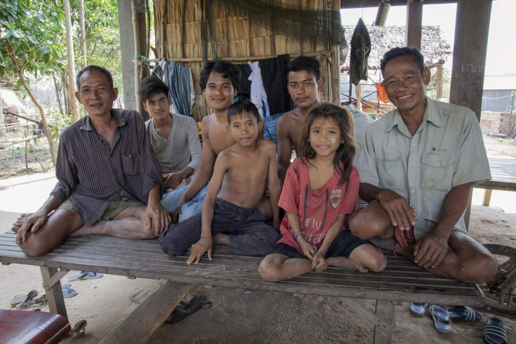 Chun and his family