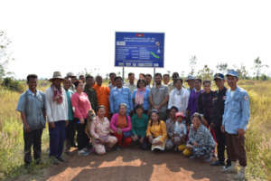 Delivering safety to families in Cambodia