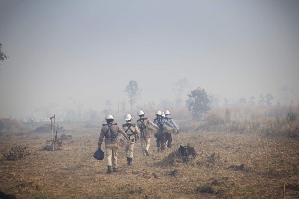 Our brave staff in Cambodia