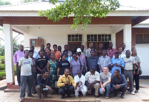 Attendees to APOPO