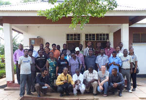 Attendees to APOPO's TB Workshop