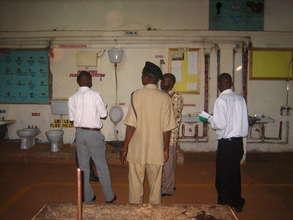 Visiting Nile Vocational Institute