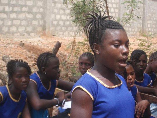 Girls in Sierra Leone-making clubs stronger