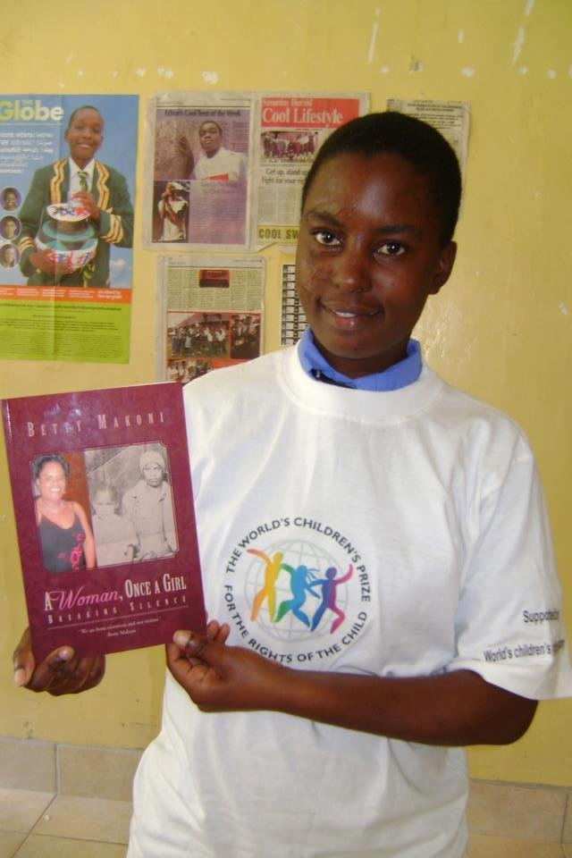 Girls in Zimbabwe receive empowerment books