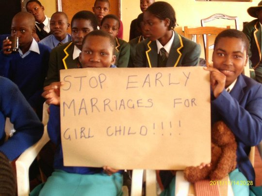 Girls Empowerment Clubs against early marriage
