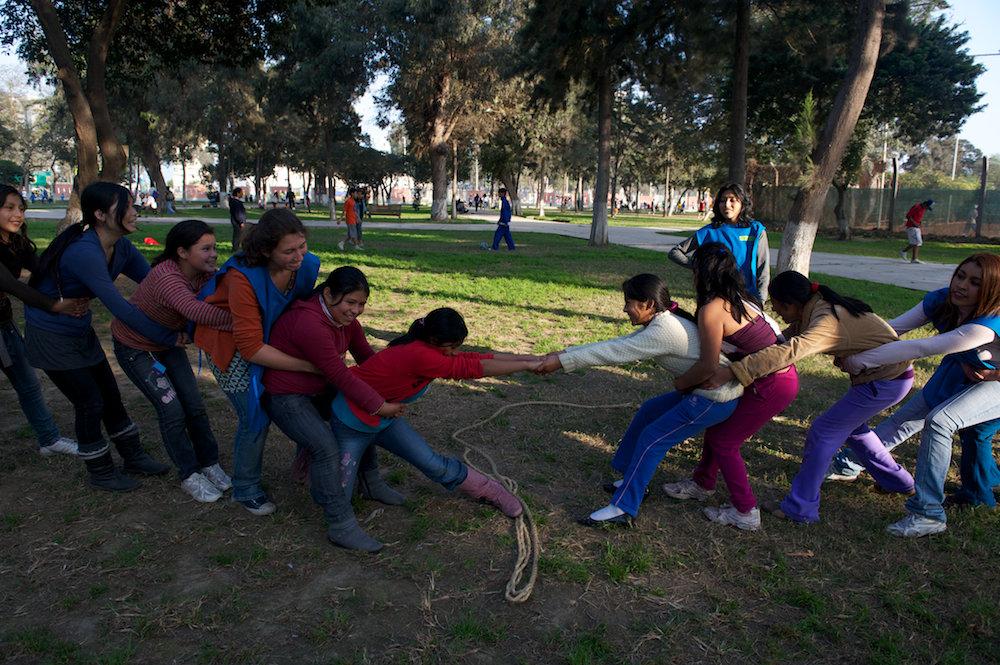 Girls in domestic work: Health=empowerment in Peru