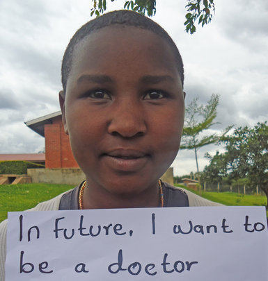 Moreen Wants To Be A Doctor