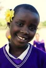 a bright and beautiful Nyaka girl