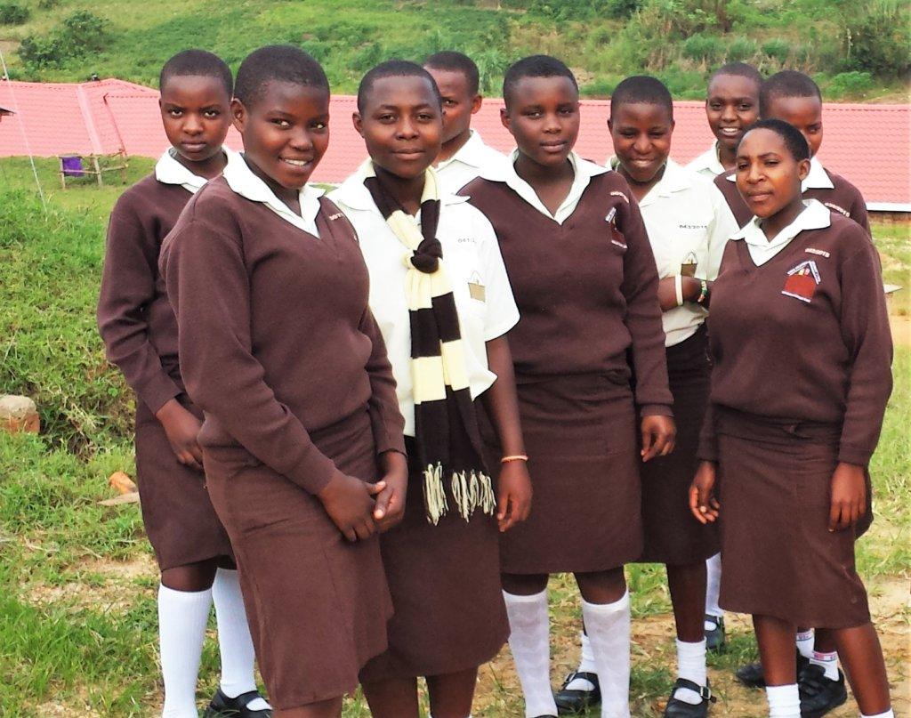 Group of NVSS girls