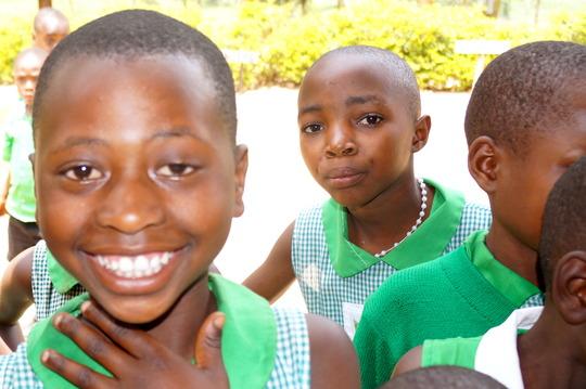 Mable (Left) with fellow Kutamba students