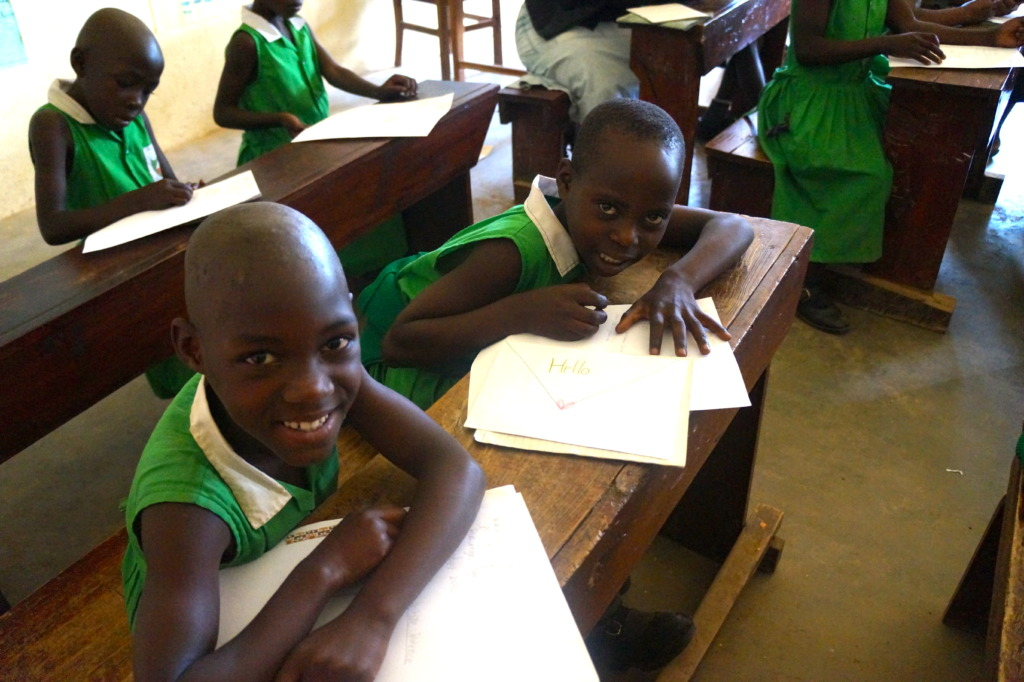Kutamba Primary School Students In Class